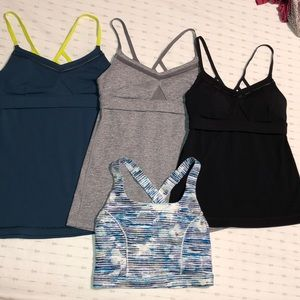 Lululemon tops, Size 4,(4 Tops) at 23$/Each, Mint